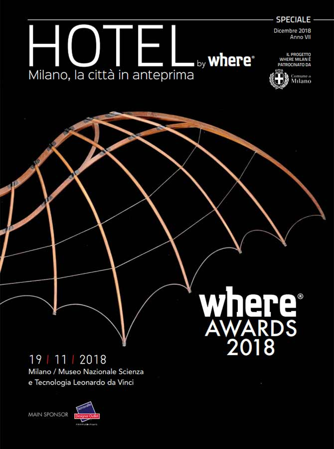 Cover Hotel by Where Awards 2018