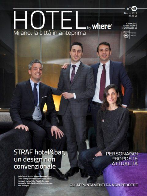 copertina hotel by where marzo 2017