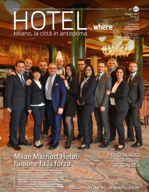 Copertina Hotel by Where maggio 2017